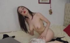 Pretty Teen Wanna Be A Pornstar