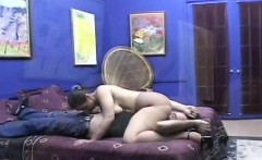 Chubby smothering man with large ass and large love bubbles