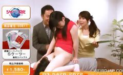 Asian teen gets cunt licked in a TV show