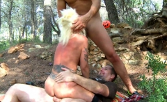 Fairy Tale Gets Wicked For Tattooed Blonde