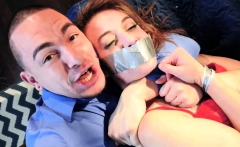 Bound gagged naked woman fucked Twisted And Taken