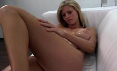 Hot pornstar casting and cumshot