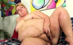 Fat BBW Velma Voodoo fucks herself