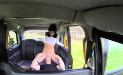Fake Taxi knee high socks beauty with no knickers