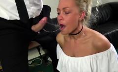 Blonde milf Nova Shields gets all of her love holes impaled