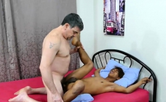 Daddy and Asian Boy Argie Bareback