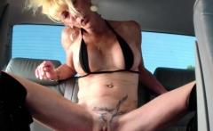 Annas colossal dildo fucking orgasms