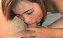 Filipina Teen Slut Sucks White Tourist Cock