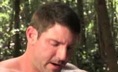 Muscular lumberjack fucks a guy