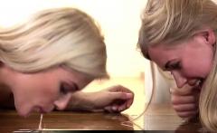 Vipissy - Creamy Blondes - Lesbian Piss