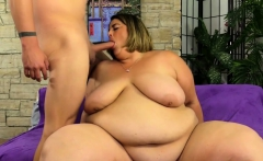 BBW Shows Off Her Fat Body and Fucks