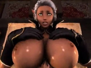 Toon overwatch 3d futanari