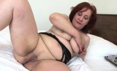 Big tits milf dildo with cumshot