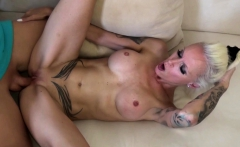 GERMAN MOM caught by STEP-SON Masturbate and Suprise Fuck