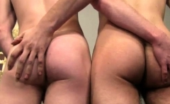 Young gay twink video and skinny guy porn movie Riler climbs