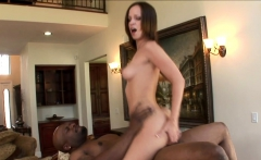Jada Stevens takes on big black cock