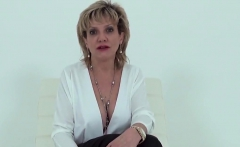 Unfaithful british milf lady sonia flashes her giant natural
