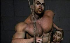 Big Cock Muscular Males 3D