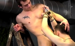 Free Gay Sex Sites Teen Bondage Dan Spanks And Feeds Reece