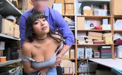 Busty Redhead,Aryana Amatista shoplifting gets her fuck