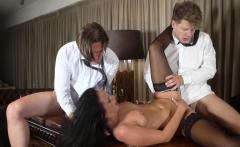 Glamkore Czech babe gets double penetration pounding