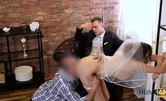 HUNT4K. Have you every fucked someone's bride at the...