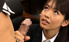 Succulent Hikaru Ayuhara enjoys sex activities