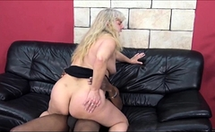 ExPornTube- First time interracial by granny
