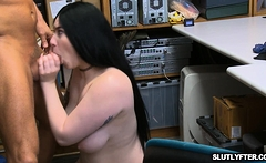 Amilia's wet tight cunt banged hardcore