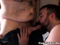 Chub Throat Fucking Otter Before Anal