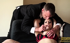 PASCALSSUBSLUTS - Spicy Lucia Love slammed with hard thrusts