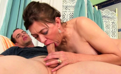 Mature Slut Babe Morgan Stuffs a Hard Rod in Her Hairy Pussy