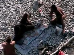 Mature Couple Fucks At Nudist Beach Voyeur Spycam