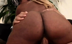 Black babe has perfect knockers for titty-fucking