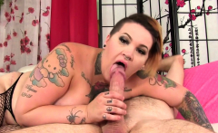 Tattooed BBW Nova Jade Rides a Hard Dick