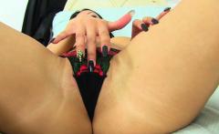British milf Cassie fingers her hot fanny