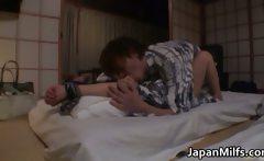 Buruma Aoi Beautiful Asian wife gets