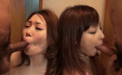 Japanese gals, Airi and Miho had a foursome, uncensored