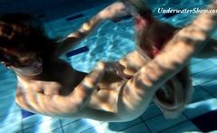 Pure underwater erotics