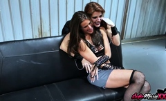 SofieMarieXXX - Lesbian MILF Teasing Before Scissoring