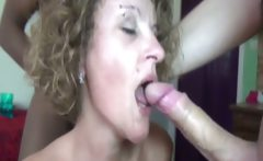 A gangbang for Claire a French mature