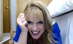 Busty blonde pornstar great toying solo