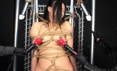 Asian needle bdsm of busty japanese Tigerr Juggs