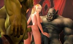 World of Warcraft 3D Whores Enjoyed a Big Dick