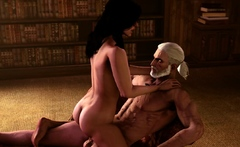 The Witcher 3 Beautiful Characters is Used as a Sex Slaves