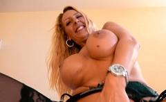 german blonde big tits mature milf at Userdate POV