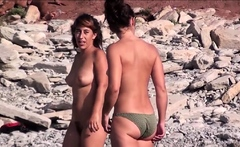 Exhibitionists Nudist Beach Voyeur Babes Spy Clip