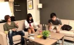 Japanese Girl Group Sex Creampie Orgasm