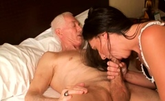 Young chick fucked by big cock