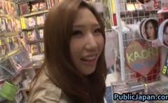 Ai Sayama Asian chick likes public sex